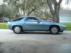 My old 1986 Porsche 928S... a 26 year old car that still looks futuristic!