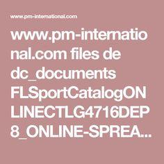 www.pm-international.com files de dc_documents FLSportCatalogONLINECTLG4716DEP8_ONLINE-SPREAD.pdf