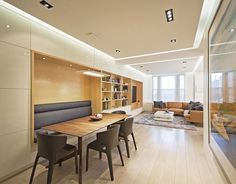 A Space Saving Seating Solution For This New York Apartment