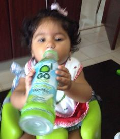 Even the toddlers know when they need rehydrated!  #GoCoco #coconutWater #Coconut #Water #Health #Nutrition #Healthy #Thirsty #Hydration #Rehydrate #GoCoconuts