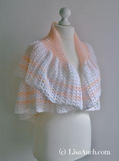 free crochet shawl pattern, ideal baby blanket vintage pattern easy