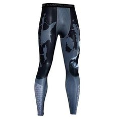 268cabf0ec Men's Compression Leggings Fitness Pants Long Male Wokout Joggers Colo –  liligla 3d Pattern, Pants