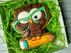 Man Cookies, Fondant Cupcakes, Cookie Decorating, Yoshi, Projects To Try, Clip Art, Halloween, School, Decorated Cookies