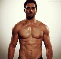 Hale that's a hot body you got me a panting like a wolf too!! (Tyler Hocherlin as Derek Hale on Teen Wolf.)