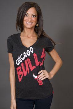 Sportique Chicago Bulls tee