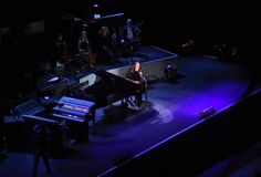 Yanni speaks before performing 'Reflections of Passions'