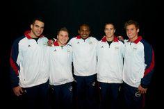 USA Men's Gymnastics Team! #London2012