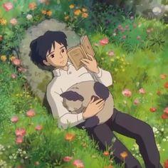 Art Studio Ghibli, Studio Ghibli Movies, Aesthetic Anime, Aesthetic Art, Wallpaper Studio, My Neighbour Totoro, Chihiro Y Haku, Secret World Of Arrietty, Japon Illustration
