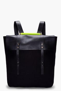 PAUL SMITH - Neon Handle Mainline Backpack