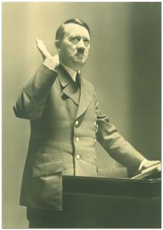Der Führer of Germany Adolf Hitler (20 April 1889 - 30 April 1945)