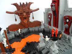 Sculpter Mihai Miho depicts the nine circles of Dante's hell... with LEGOS.