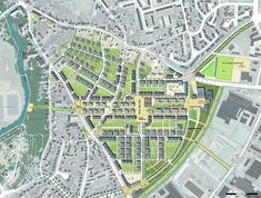 Master Plan, Contemporary Landscape, Urban Planning, Urban Design, Landscape Architecture, City Photo, The Neighbourhood, Around The Worlds, Concept