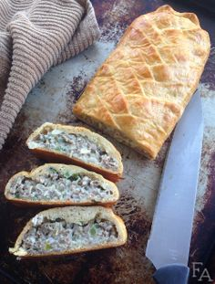 "This recipe is inspired by the braided bread food item you're able to make with the homey ""Hearthfire"" add-on pack for ""The Elder Scrolls V: Skyrim""."