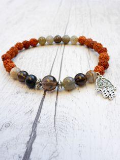 The Moon Dust Mala Bracelet - Mala Kamala Mala Beads  - Boho Malas, Mala Beads, Mala Necklaces and Bracelets, Childrens Malas, Jewelry and Baby Necklaces for yoga, meditation, prayer or part of boho style