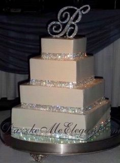 Cake, Gold, Silver  Do it all in Gold
