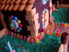 Chocolate house cake