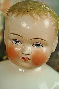 """Large and Handsome 15.5"""" Blonde Frozen Charlie http://www.dollshopsunited.com/stores/Bebes/items/1270437/Large-Handsome-155-Blonde-Frozen-Charlie #dollshopsunited"""