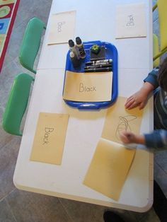 Teach Preschool: Color Books