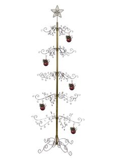 24 S-Hooks Glass Blown Ornaments for Christmas Tree Old World Christmas Ornaments