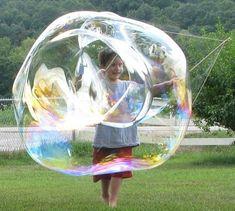 How to Make ... bubbles, bubble wands, bubble mixes, bubble snakes, bubble prints