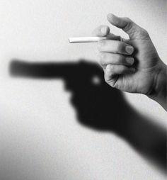 Publicidad creativa contra el tabaco