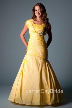 Bridesmaid & Prom, Trina | LatterDayBride & Prom -Modest Mormon LDS Prom Dress