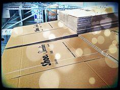 Il nostro magazzino è in fermento... in arrivo la nuova collezione #Shoeshine #AutunnoInverno 2013-2014!!! #TakeCare