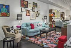 Check out this temporary shop for the ever-colorful brand's covetable offering of home décor.