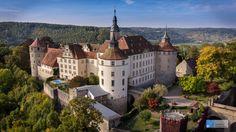 Schloss Langenburg, Germany - http://bestdronestobuy.com/schloss-langenburg-germany/