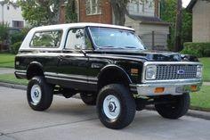 SEMA Show Pickup Trucks | Classic 1972 Chevrolet Blazer K5, 454 engine, Automatic ... #trucking