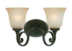 Barret Place 2 Light Bath Vanity Light