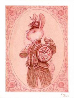 Casey Robin    White Rabbit - Alice in Wonderland