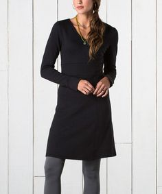 Love this Black Finlay Dress by Horny Toad on #zulily! #zulilyfinds   Horny Toad and Toad&Co Women