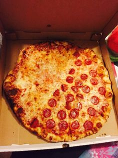 Pepperoni, Pizza, Food, Meal, Eten, Meals