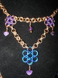 Handmade Chain mail necklace