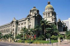 Durban City Hall. Kwazulu Natal, Notre Dame, South Africa, Mansions, House Styles, City, Building, Places, Pictures