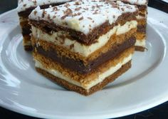 Chod: Zákusky a koláče - Page 11 of 254 - Mňamky-Recepty. Hungarian Desserts, Hungarian Recipes, Sweet Cookies, Sweet Treats, Torte Cake, Sweet And Salty, Winter Food, Desert Recipes, Sweet Recipes