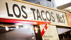 Los Tacos No. 1 {Chelsea Market} Called best authentic tacos in NYC. Note: no seating