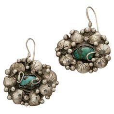 1stdibs.com   MARY GAGE Turquoise Earrings