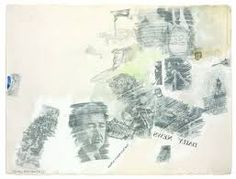 Image result for robert rauschenberg transfer drawings