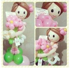 Doll balloon sculpture