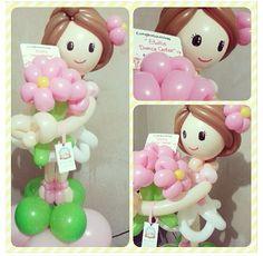 Doll balloon sculpture