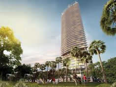 is is the first project in America for this esteemed Italian designer. 1100 Millecento is a 42 story majestic structure by world renowned architect Carlos Ott who has already been instrumental in creating some of the most lavish complexes in Miami to date, including the Artech and Jade Beach Condominiums.