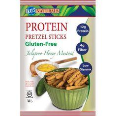 Kay's Naturals Better Balance Pretzel Sticks Jalapeno Honey Mustard 1.2 Oz (6 Pack)