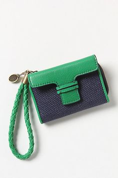 Cute wallet.  Love the color too!    To-Go Wallet #anthropologie