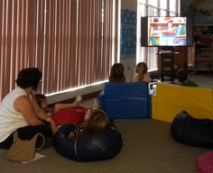 Movie Marathon all day today in the Storytime Room!