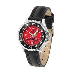 Louisville Cardinals Ladies Leather Wristwatch