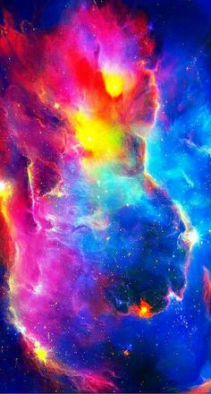 The rainbow colors of outer space show the variety of different unknown galaxies out in the universe. Cosmos, Space Iphone Wallpaper, Galaxy Wallpaper, Hd Wallpaper, Iphone Wallpapers, Desktop Backgrounds, Wallpaper Earth, Planets Wallpaper, Hd Desktop
