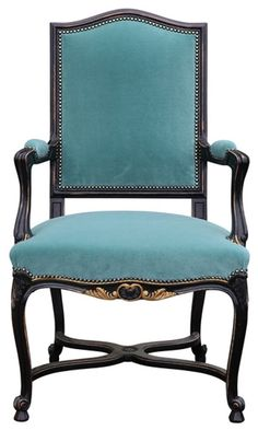 Regency armchair patinated and upholstered in France, in our workshops.Contact us to guide you in choosing your fabrics