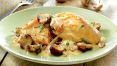 Chicken In Creamy White Wine Sauce